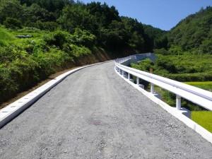 【平成23年度完成】西予市野村町 農道拡張工事