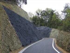 【平成24年度完成】西予市野村町 林道開設工事