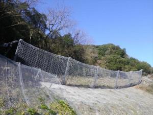 【平成24年度完成】西予市野村町 リングネット工法